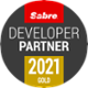 Sabre Developer Partner 2021 Gold