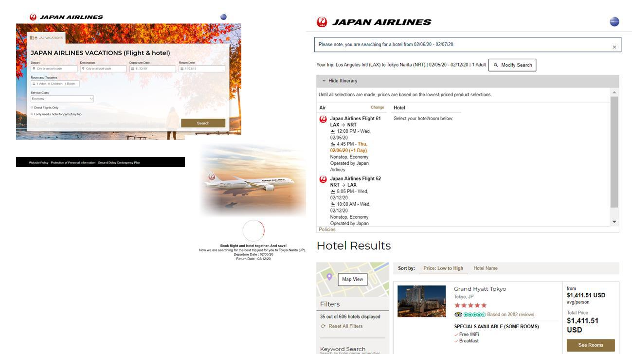 JAL packaging JP
