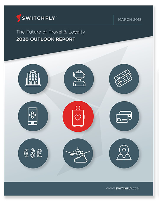 Switchfly Travel and Loyalty Outlook Report Page